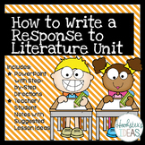 How to Write a Response to Literature Unit