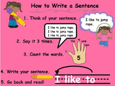 How to Write a Sentence Flipchart for ActivInspire