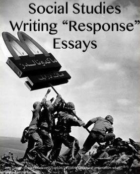 How to Write a Social Studies Response Essay