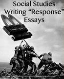 How to Write a Social Studies Response Essay