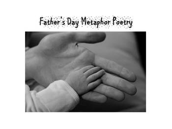 How to Write a Father's Day Metaphor Poem (power point and lesson plan) Age 7+