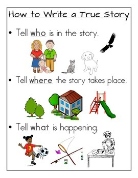 How to Write a True Story Lucy Calkins