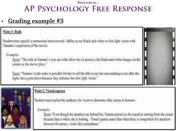How to Write an AP Psychology Free Response