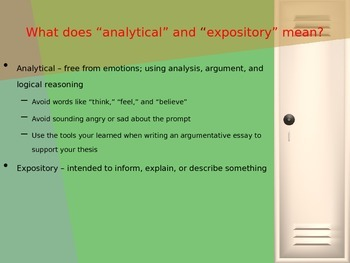 How to Write an Analytical Expository Essay
