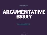 How to Write an Argumentative Essay: Explanation & Essay Prompt