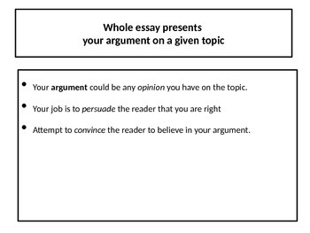 how to write an argumentative essay ppt for high school students writing an argumentative essay - Writing An Argumentative Essay Powerpoint