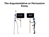 How to Write an Argumentative Essay PPT for high school students