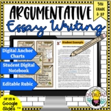 How to Write an Argumentative Essay for Middle School Students|Google Slides