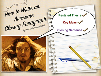 How to Write an Awesome Closing Paragraph
