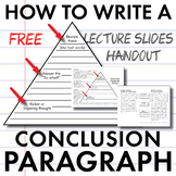 How to Write a Conclusion Paragraph, FREE Slides + Handout