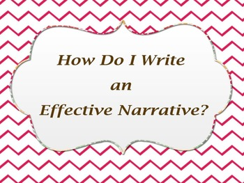 How Do I Write an Effective Narrative Lesson