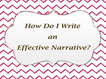 How Do I Write an Effective Narrative Lesson