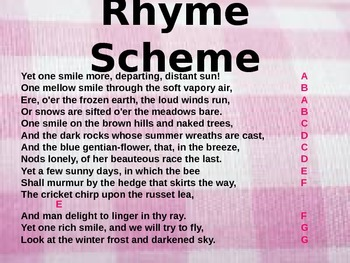 How to Write an Elizabethan Sonnet