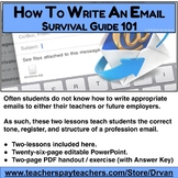 How to Write an Email: Two Lessons in Audience, Tone, and Format