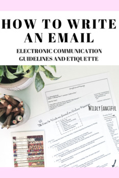 How to Write an Email: Electronic Communication Guidelines and Etiquette