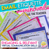 How to Write an Email to Teachers: Email Etiquette Mini-Unit Digital & Print