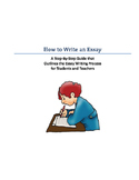 How to Write an Essay: A Step-by-Step Guide
