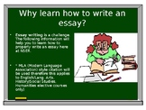 How to Write an Essay Power point