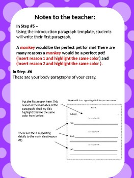 How to Write an Essay Template
