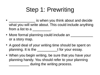 How to Write an Essay - The Basics (student version)