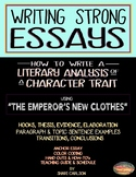 ESSAYS: How to Write Them: A Literary Analysis of a Charac