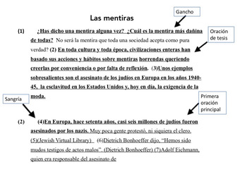 How to write an essay for spanish four and ap by angie torre tpt how to write an essay for spanish four and ap ccuart Image collections