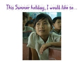 How to Write an Imaginative Summer Holiday Poem (lesson pl