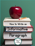 How to Write an Informative Paragraph