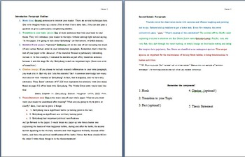How to Write an Introduction Paragraph: for Research and Expository Writing