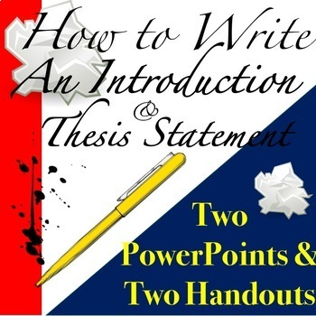 How to write an introduction to your dissertation
