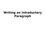 "How to Write an Introduction using ""The Most Dangerous Game"""