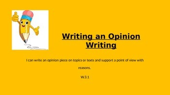 How to Write an Opinion Piece