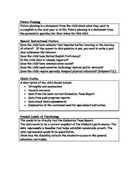 How to Write and I.E.P. Guide