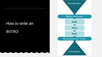 How to Write and Introduction PowerPoint Presentation Slides