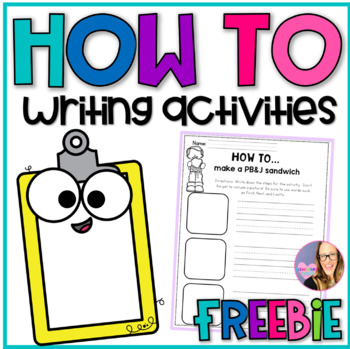 Sequence Writing Activities K-1