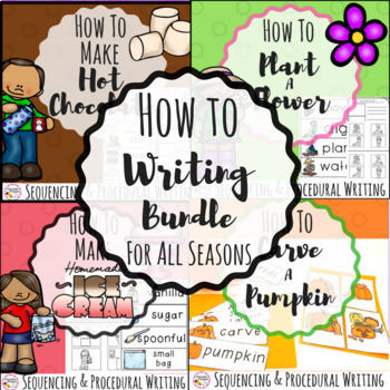 How to Writing Bundle- 4 Seasons