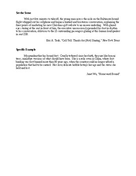 How to Write Essay Introductions - Examples - CCSS Aligned