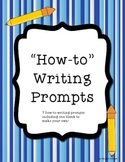 How-to Writing: First, Next, Then, Last