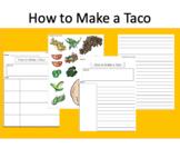 How to Writing: Make a Taco