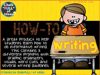 How to Writing Packet [Informative Writing in the Elementa