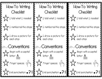 How to Writing (Procedural) Topic Cards