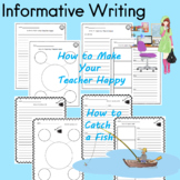 How to Writing, Procedural Writing, Informative Writing