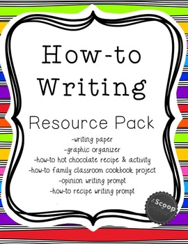 How-to Writing Resource Pack