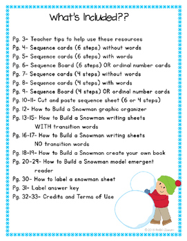 How-to Writing Sequence Snowman