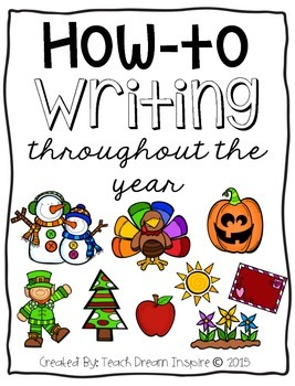 How-to Writing Throughout the Year