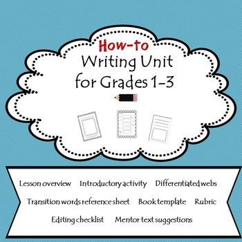 How to Writing for Grades 1-3