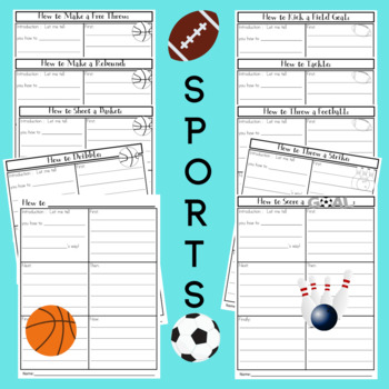 How to Writing Prompts Frames and Graphic Organizers for 1st & 2nd Grade