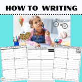 Writing Prompts:How to Writing Frames for 1st & 2nd Grade