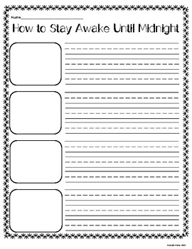 No Prep How to Writing Prompts: Templates for the Whole Year