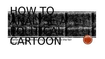 How to analyse a political cartoon